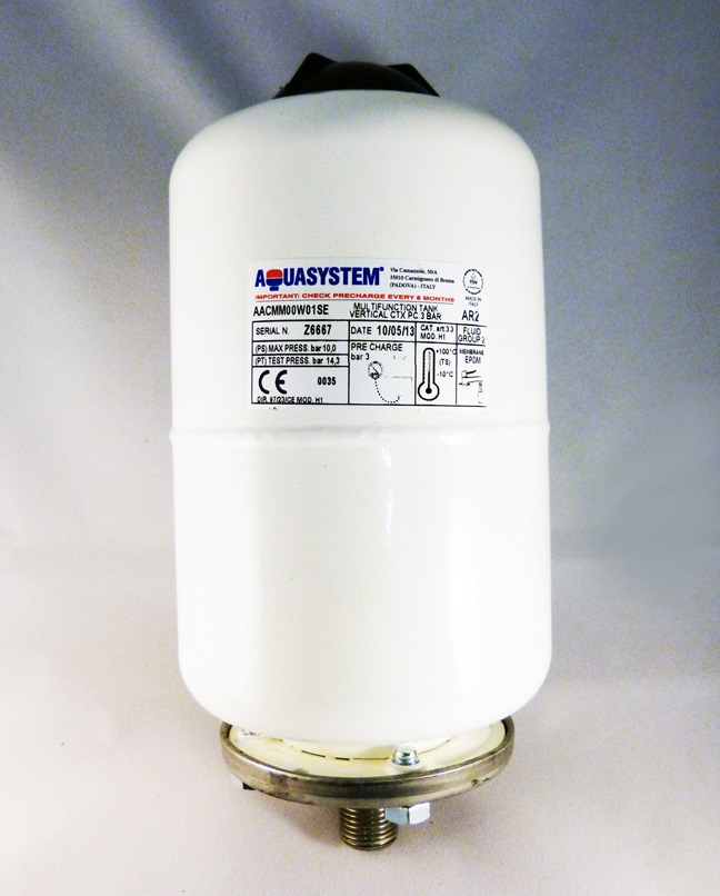 POTABLE EXPANSION VESSEL USED FOR ALL THERMAL STORES 2 LITRE