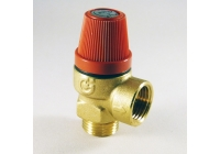 3 BAR RELIEF VALVE 1/2 USED WITH MULTI FUEL AND SEALED THERMAL STORES
