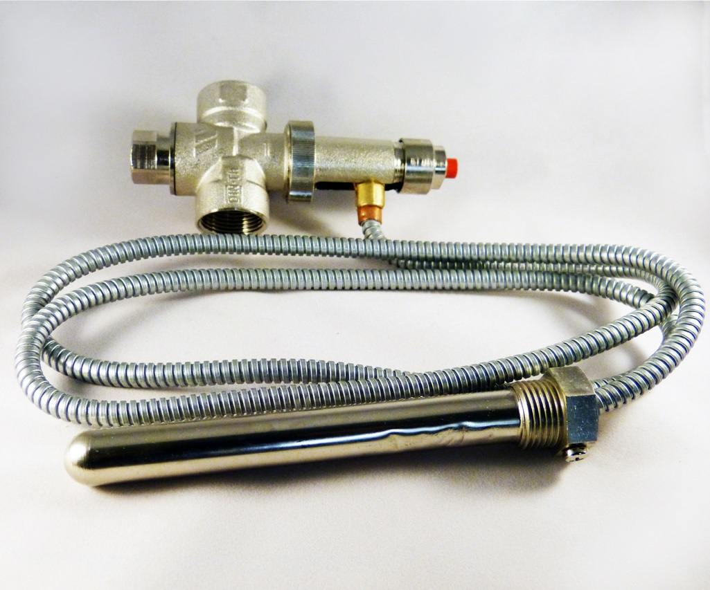 THERMAL SAFETY VALVE USED WITH MULTI FUEL AND SEALED THERMAL STORES