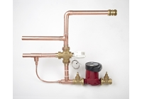 WOOD BURNER PUMP AND CONTROL KIT USED WITH MULTI FUEL THERMAL STORE
