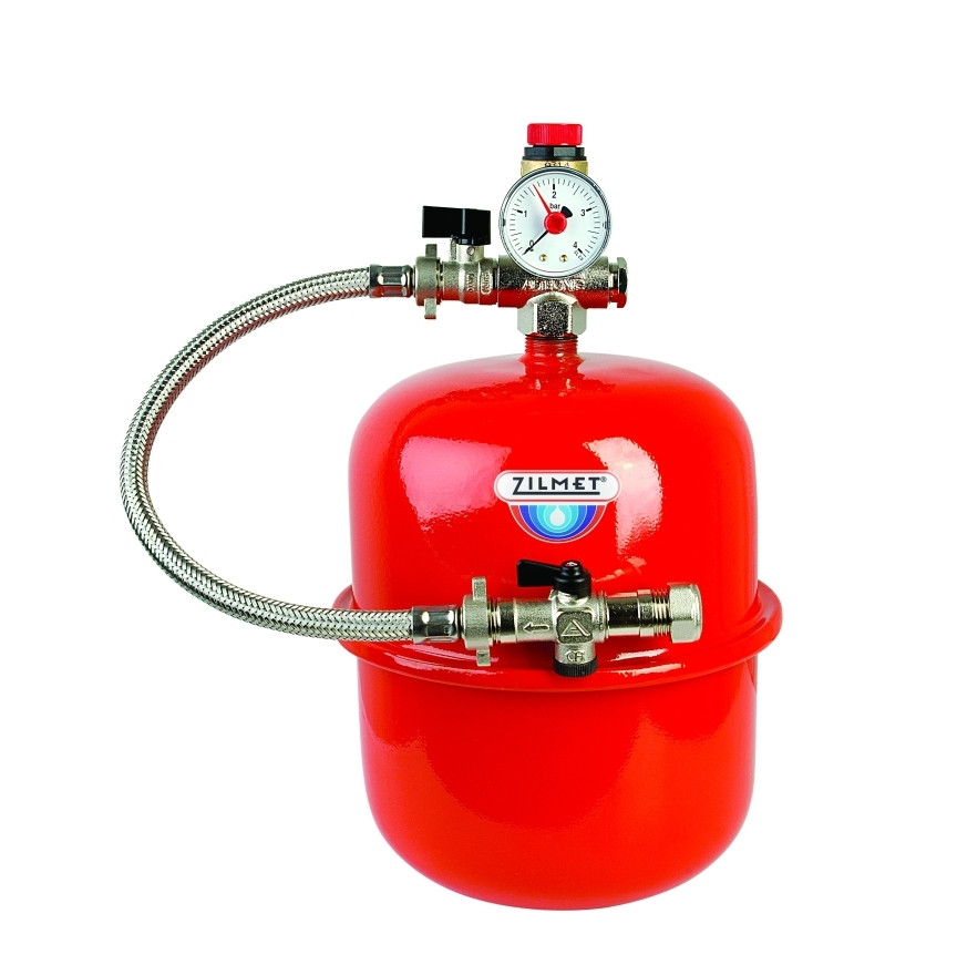 SEALED SYSTEM KIT AND FILLING LOOP C/W 8 LITRE EX VESSEL
