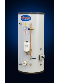 VENTED THERMAL STORE CYLINDER DIRECT SINGLE COIL TSDC