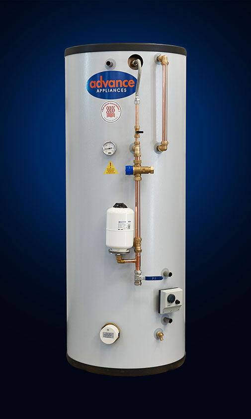 THERMAL STORE INDIRECT WITH COLD SECTION TWIN COIL TSi