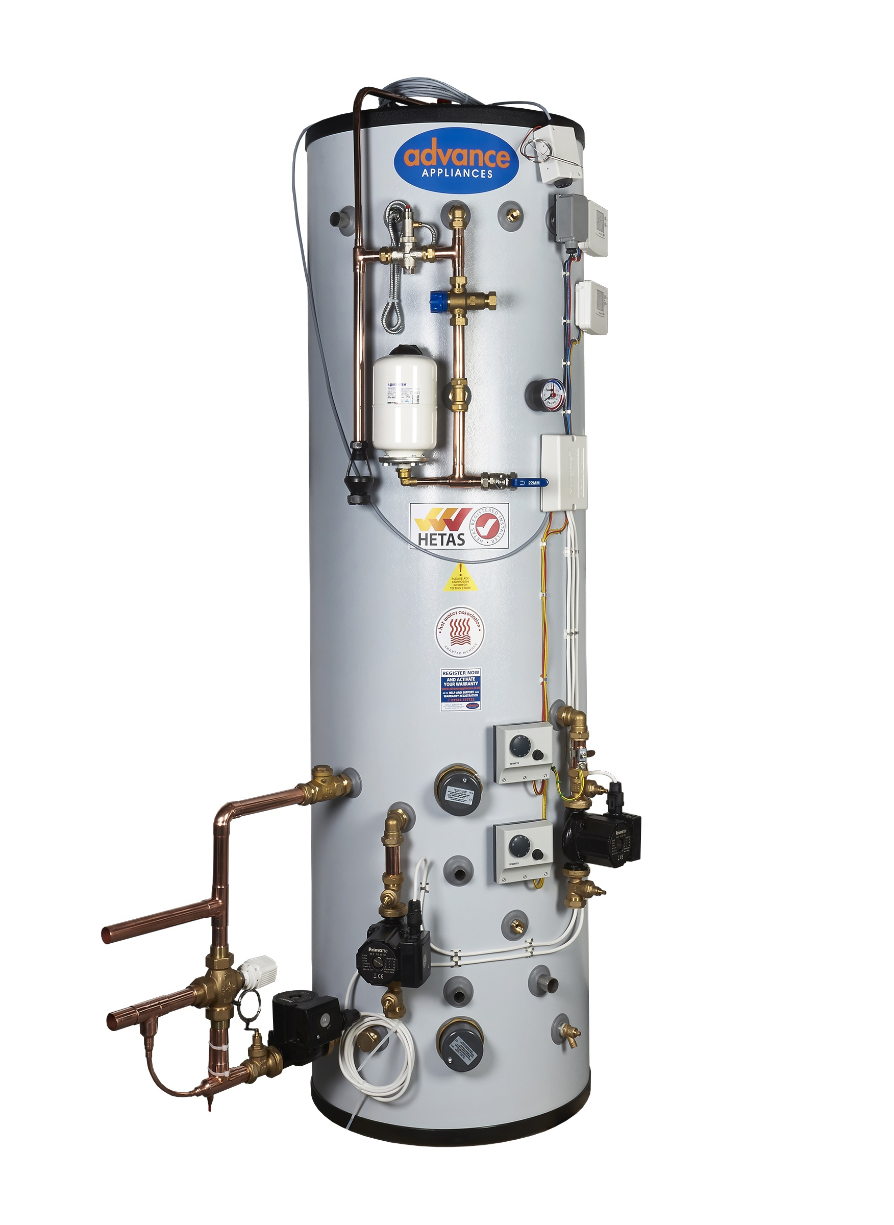 MULTI FUEL UNIVERSAL THERMAL STORE - SFUTS